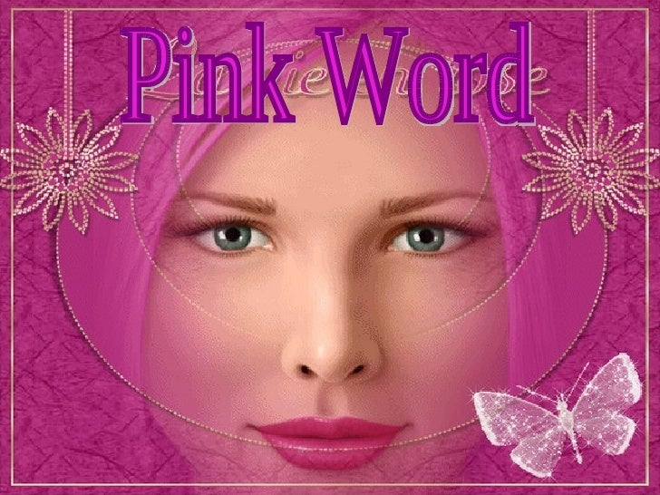 Pink Word
