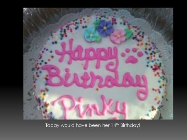 Cake Images With Name Pinky : Pinky