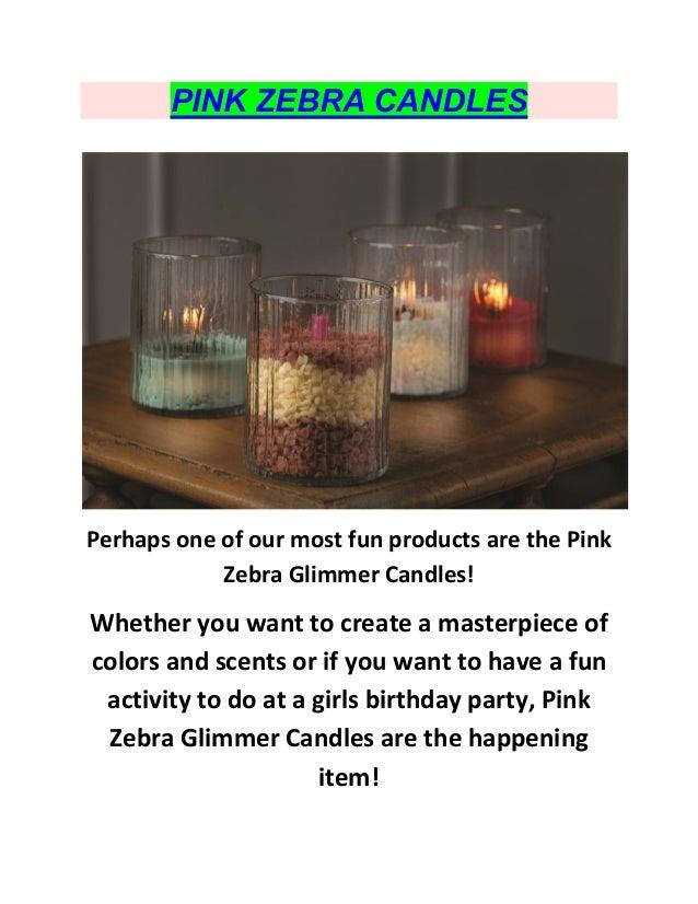 Pink Zebra Sprinkle Scents : Pink Zebra Candles