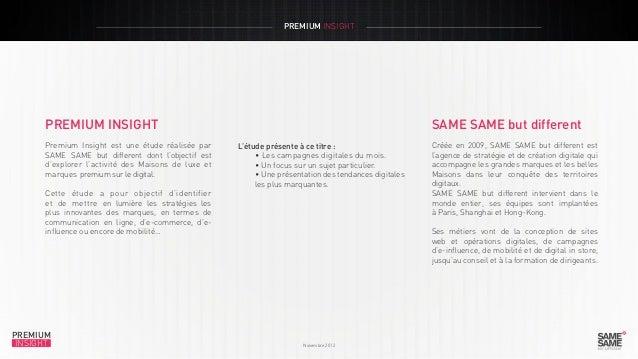 Premium Insight Novembre 2012 fr Slide 2
