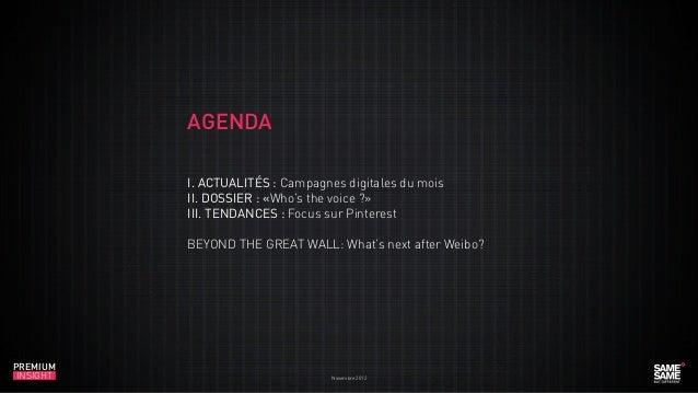 Premium Insight Novembre 2012 fr Slide 3