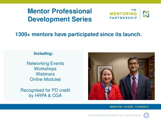 launching the mentor relationship