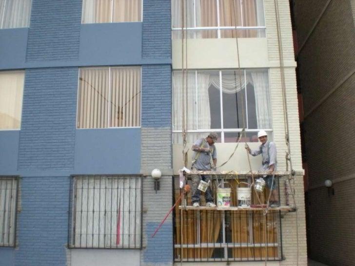Pintado de fachadas edificios h f j 2012 - Pintado de fachadas ...