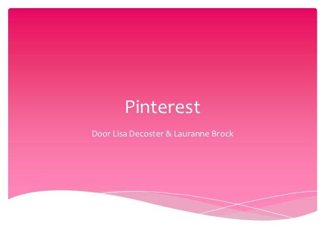 PinterestDoor Lisa Decoster & Lauranne Brock