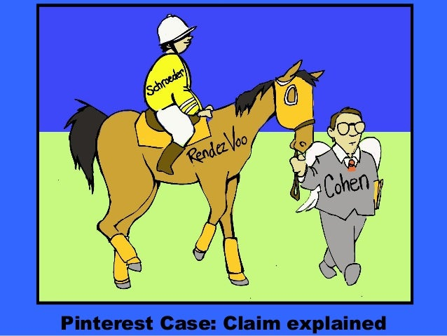 Pinterest Case: Claim explained