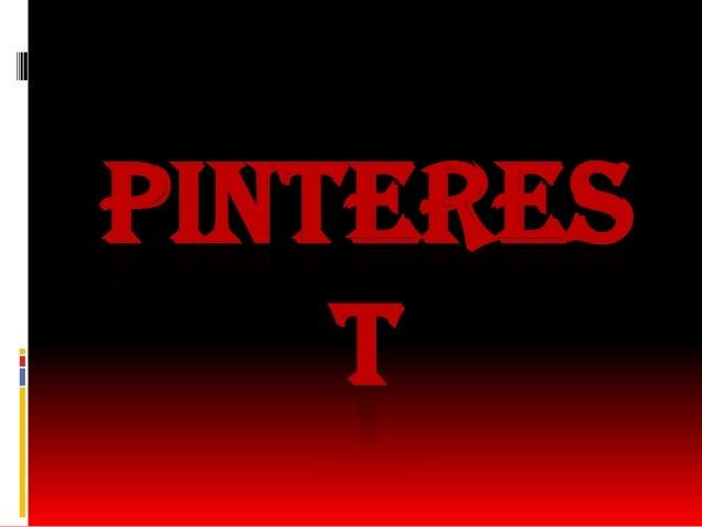 Pinteres t