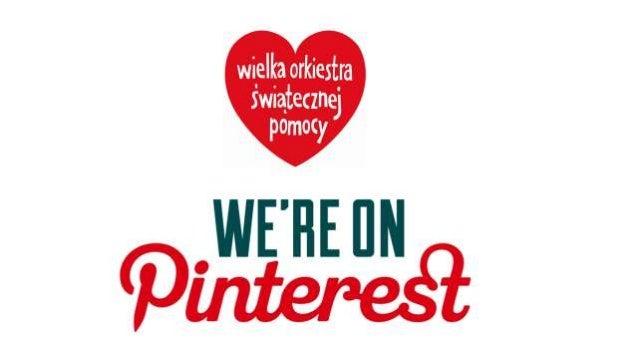 Pinterest - podstawy Czym jest Pinterest?  Jest to portal społecznościowy, oparty na dzieleniu się wyłącznie treściami wi...
