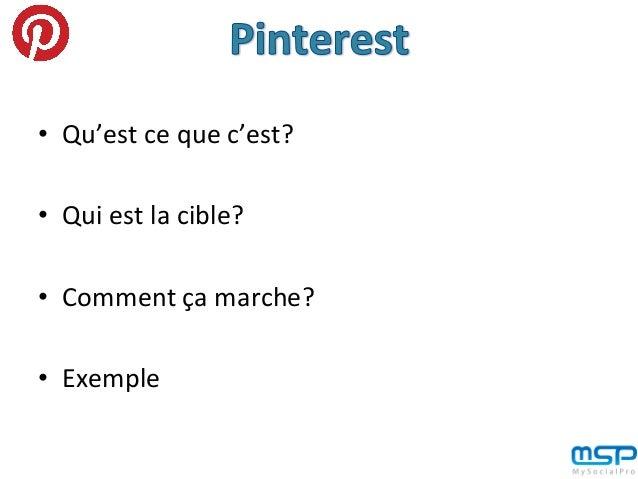 Explication de l'intérêt de Pinterest pour améliorer l'image de ton entreprise en 4 points Slide 2