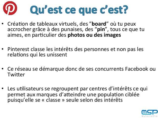 Explication de l'intérêt de Pinterest pour améliorer l'image de ton entreprise en 4 points Slide 3
