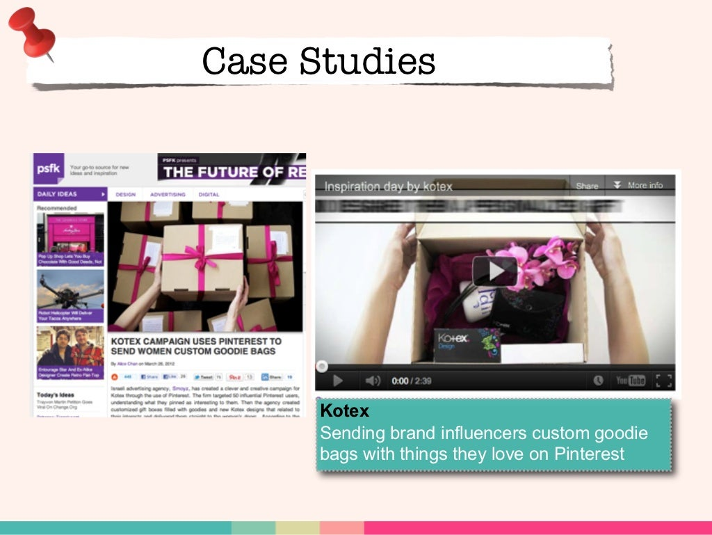kotex pinterest case study