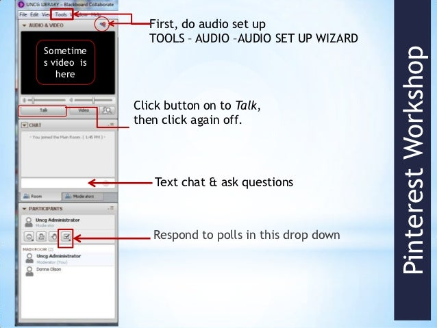 First, do audio set up               TOOLS – AUDIO –AUDIO SET UP WIZARDSometime                                           ...