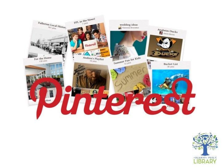 Today•   What is Pinterest?•   How to get started•   Boards and Pins•   How to follow other people•   How to Pin your own•...