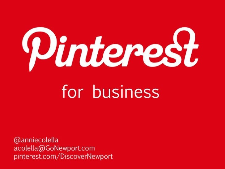 What is the interest inPinterest?