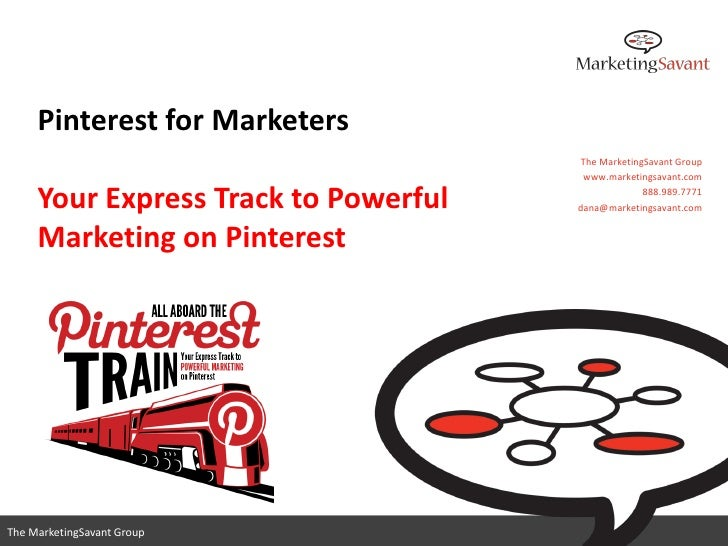 Pinterest for Marketers