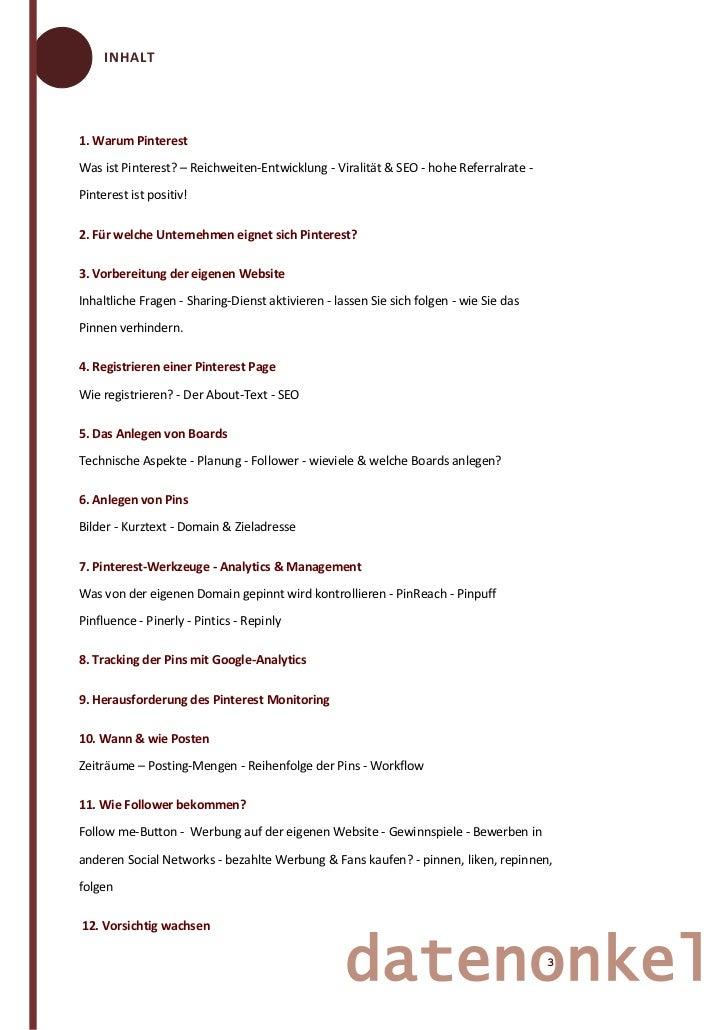 Pinterest für Unternehmen - der ultimative Marketing Guide Slide 3
