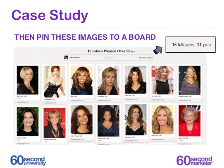 Case StudyTHEN PIN THESE IMAGES TO A BOARD