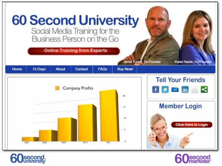 60SecondUniversity.com