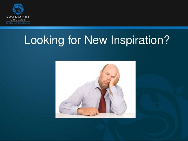 Looking for New Inspiration?
