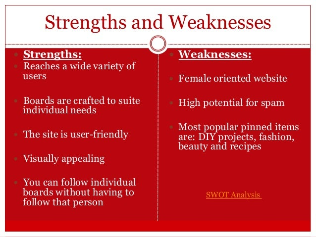 your unique personality strenghts and weaknesses Aside from revealing your secret strengths, online personality quizzes can divulge your weaknesses, which is actually a good thing no one is good at everything, and knowing your dominant traits.