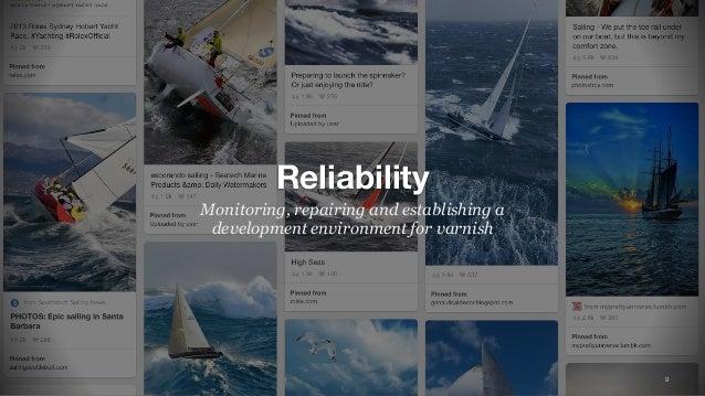 9 Reliability Monitoring, repairing and establishing a development environment for varnish