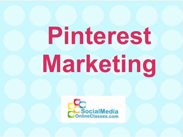 PinterestMarketing