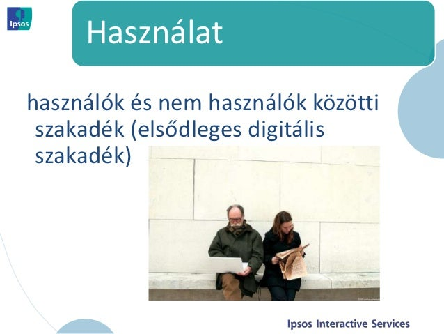 Használathasználók és nem használók közötti szakadék (elsődleges digitális szakadék)