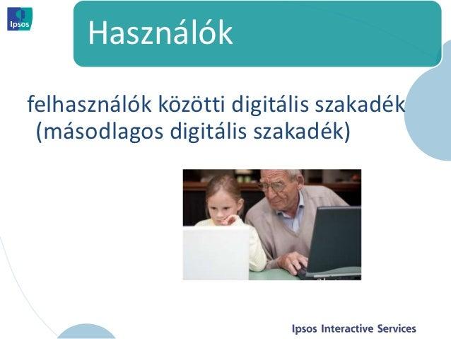 Használókfelhasználók közötti digitális szakadék (másodlagos digitális szakadék)