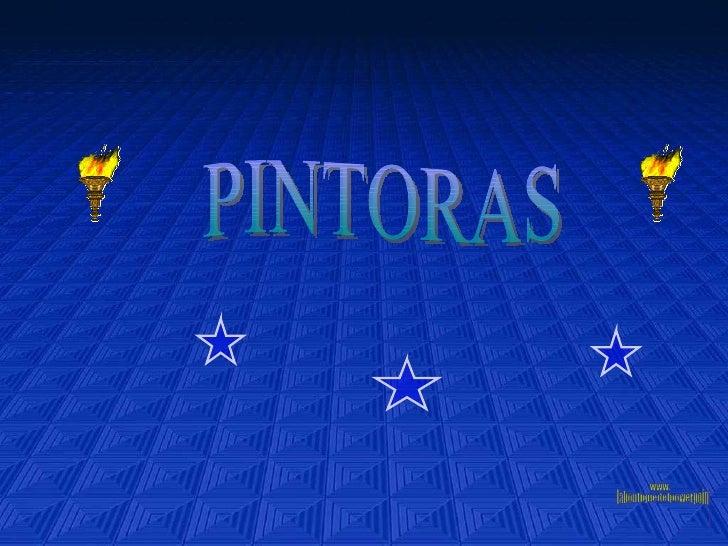 PINTORAS www. laboutiquedelpowerpoint. com