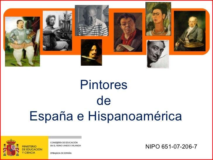 Pintores de espa a e hispanoam rica - Pintores de madrid ...