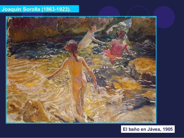Joaquín Sorolla (1863-1923).  El baño en Jávea, 1905