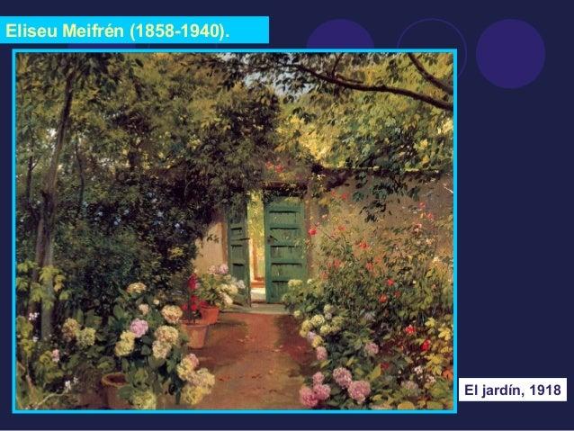 Eliseu Meifrén (1858-1940).  El jardín, 1918
