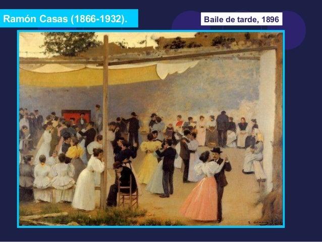 Ramón Casas (1866-1932). Baile de tarde, 1896
