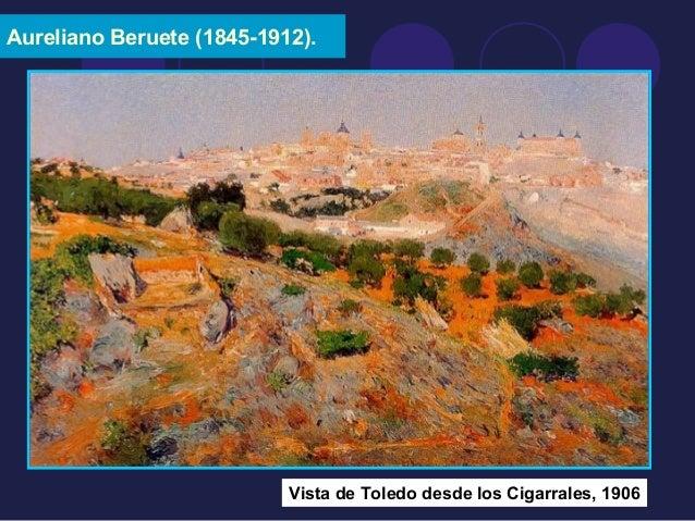 Aureliano Beruete (1845-1912).  Vista de Toledo desde los Cigarrales, 1906