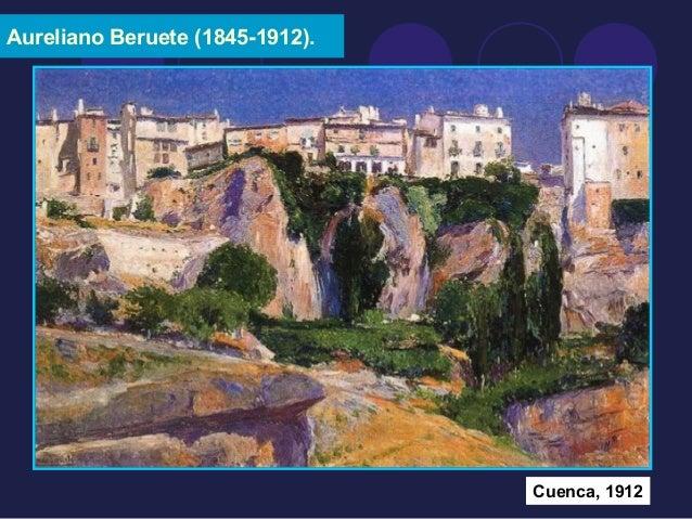 Aureliano Beruete (1845-1912).  Cuenca, 1912
