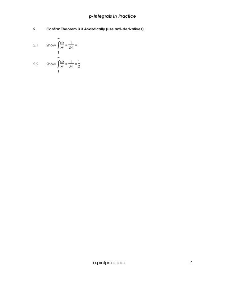 AP Calculus BC pint practice worksheet – Derivative Practice Worksheet