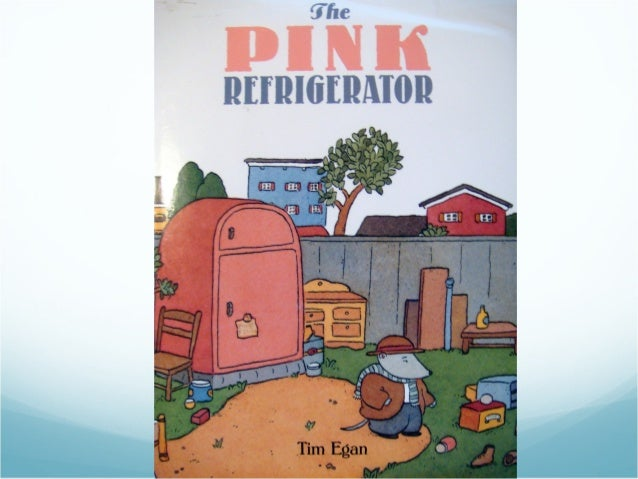 Pink refrigerator