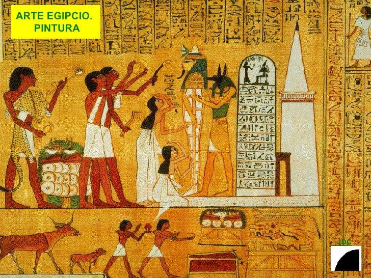 ARTE EGIPCIO.  PINTURA