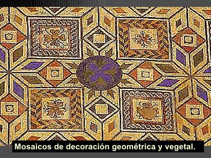 Pintura y mosaico romanos for Mosaico romano
