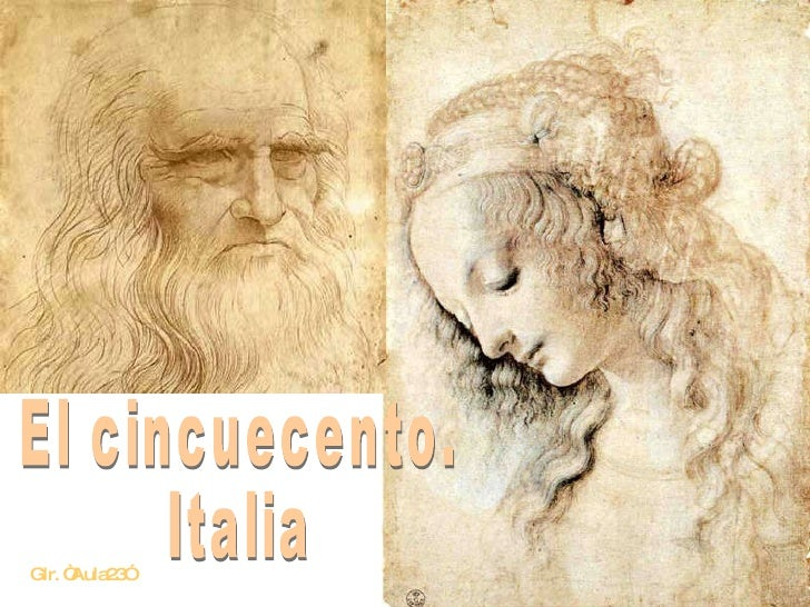 """El cincuecento. Italia Glr. """"Aula23"""""""