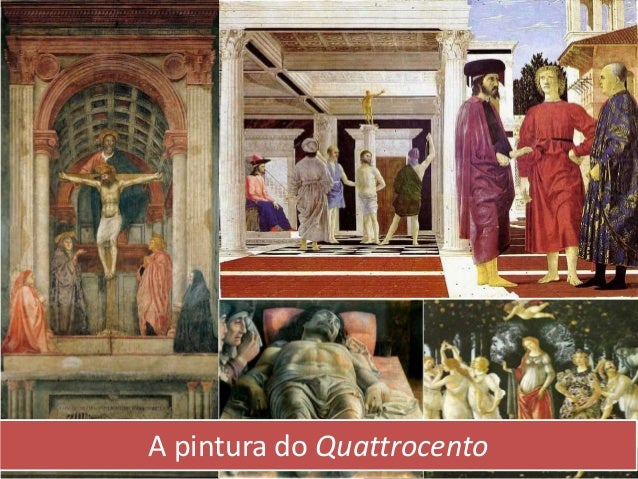 A pintura do Quattrocento