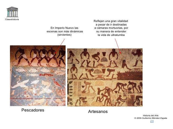 Claseshistoria Historia del Arte © 2006 Guillermo Méndez Zapata Pescadores Artesanos En Imperio Nuevo las escenas son más ...