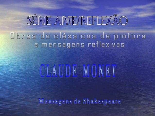 CLAUDE MONETCLAUDE MONETOMelhordoImpressionismoPaisagens1864 - 1897