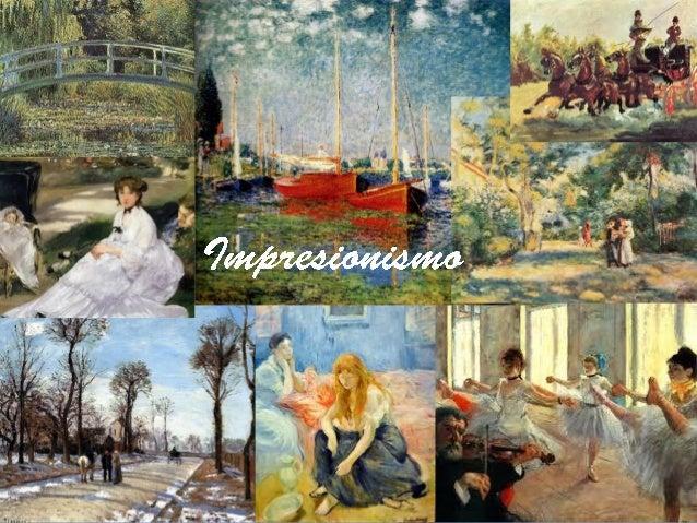 """1. Los antecedentes del Impresionismo • La sociedad francesa a mediados del S.XIX •El mundo artístico •Corot •La """"Escuela ..."""
