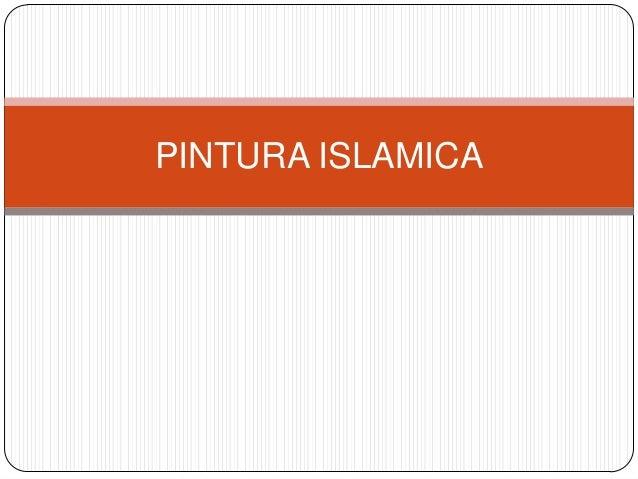 PINTURA ISLAMICA