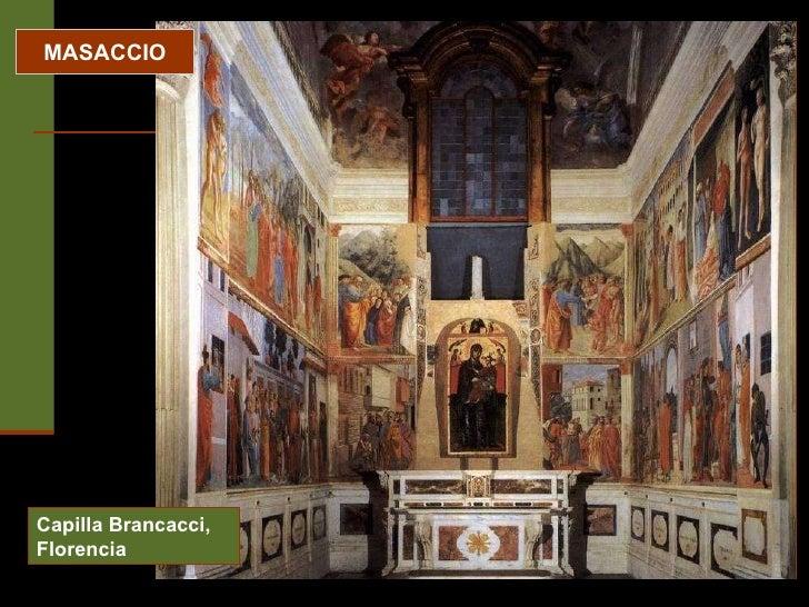MASACCIO Capilla Brancacci, Florencia