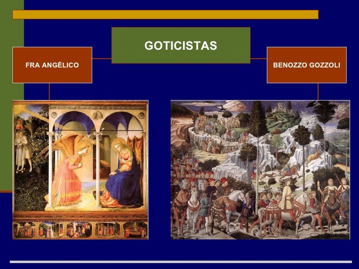 FRA ANGÉLICO BENOZZO GOZZOLI GOTICISTAS