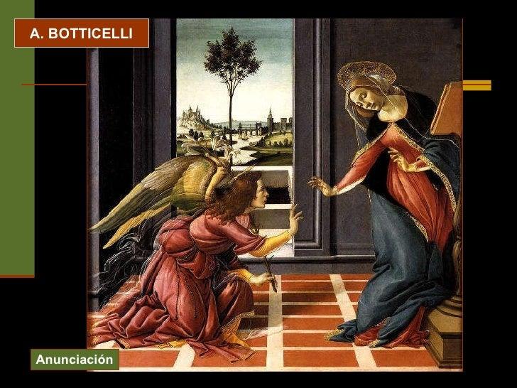 A. BOTTICELLI Anunciación