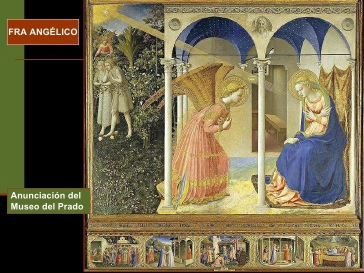 Anunciación del Museo del Prado FRA ANGÉLICO