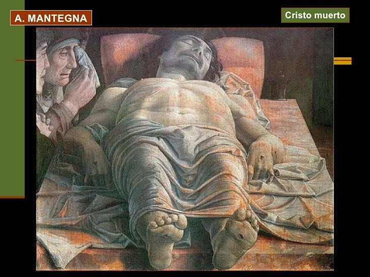 A. MANTEGNA Cristo muerto