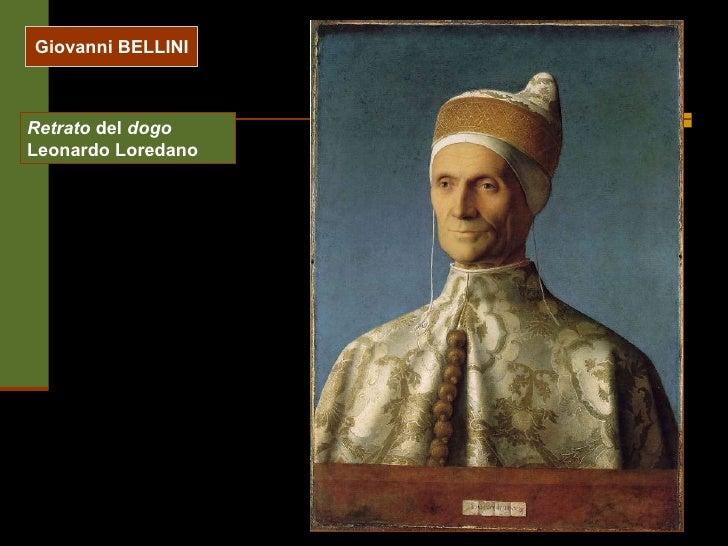 Giovanni BELLINI Retrato  del  dogo  Leonardo Loredano